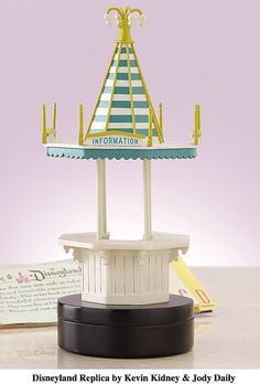 Disneyland Information Booth Replica by Kevin Kidney & Jody Daily