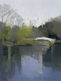 Lisa BreslowAt Kathryn Markel Fine Arts, painter Lisa Breslow is currently exhibiting a dozen paintings of New York City. Breslow's panels, which favor atmosphere over specificity, are about the artis...