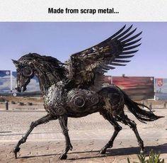 Scrap metal Pegasus