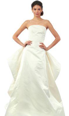 Oscar de la Renta Fall 2014 Wedding Dresses - The Knot Blog