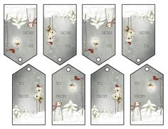 Print Your Own Gift Labels @ Common Sense Homesteading