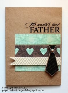 Father's Day card idea. First pin found didn't link to the correct URL.