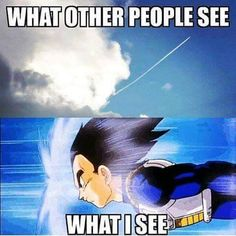 """YASSSSS!!!!!! I just think """"somethings about to go down, good luck guys"""" XD yeah I'm that weird. #PrinceVegeta ( Hannah ) God bless"""