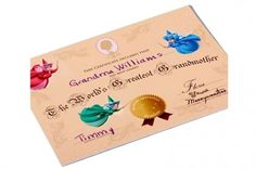 World's Greatest Grandmother Certificate