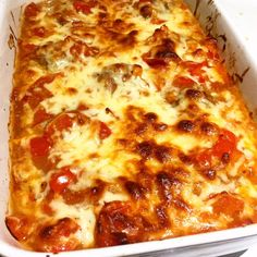 Syn Free Cheesy Meatball Bake (HexA) – Basement Bakehouse Slimming World