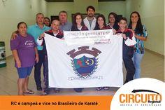RIBEIRÃO CORRENTE TEM CAMPEÃO E VICE NO BRASILEIRO DE KARATÊ