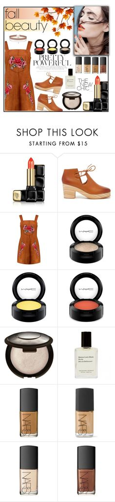 """orange rose"" by smillafrilla ❤ liked on Polyvore featuring beauty, Guerlain, Kelsi Dagger Brooklyn, Boohoo, Charli, MAC Cosmetics, NARS Cosmetics and Miss Selfridge"