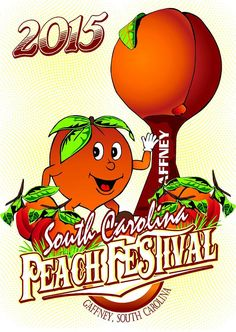 6. SC Peach Festival - Held in Gaffney, SC. It's all about celebrating that beautiful fruit. Filled with tons of fun you couldn't find a better place to spend the day with the family.