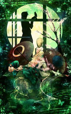 Saiyuki ~~ Window fanart series :: Cho Hakkai