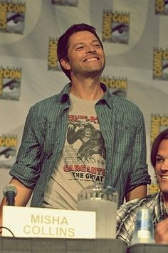 Misha Collins you are quite possibly the most adorable and wonderful human being ever