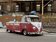 Restore it and add an up-to-date engine and it's the ultimate surf mobile.