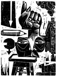 That's Inked Up: Argentina's Americo Balan Abraham New York Museums, Museum Of Contemporary Art, Punk Art, Museum Of Fine Arts, Teaching Art, Painting Inspiration, Illustrations Posters, Printmaking, Art Gallery