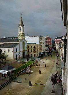 Spain, Galicia, Lugo, Ribadeo, Nuestra Señora del Campo Church