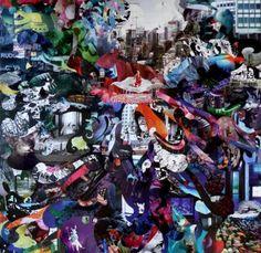 the surge beneath Collage Saatchi Online, Online Gallery, Saatchi Art, My Arts, Collage, Paper, Artist, Painting, Collages