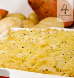 SHEPHERD'S PIE  Serves 4   and is a weekly staple in our house.  For this recipe and similar check out our website and click on the link.