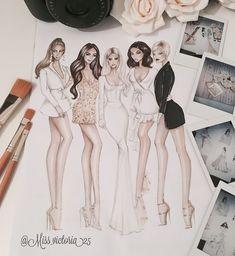49 Ideas Fashion Design Sketches Dresses Artists For 2019 Fashion Collage, Fashion Art, Fashion Models, Fashion Design Drawings, Fashion Sketches, Fashion Illustrations, Model Sketch, Fashion Figures, Cap Dress