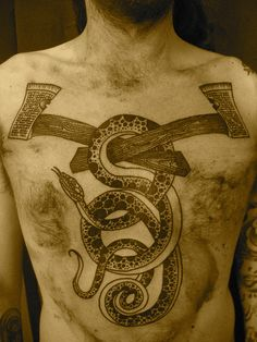 snake and axes        ★        by lyam
