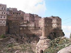 the city of Manakha, Yemen