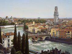 Nathan Walsh | Verona II - oil on linen