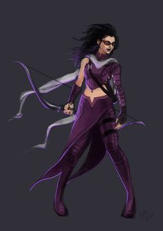Bearako's Corner: TOY CUSTOM: Kate Bishop / Hawkeye (Young Avengers)