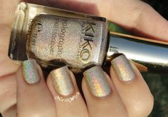 Nail Wish: KIKO Lavish Oriental Collection 399 Silk Taupe