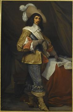 Jean, comte de Gassion (1609-1647), Marshal of France in 1643.   Jean Alaux dit Le romain, 1835