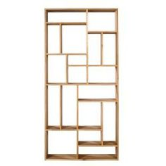 The Mondrian-inspired M rack is based on the Dutch painters famous grid of vertical and horizontal lines. Made of solid oak, this rack is available in two sizes. Also available in Teak. Rack Shelf, Storage Shelves, Shelving Units, Solid Oak Bookcase, Modern Bookcase, Ivar Hack, Room Partition Designs, Contemporary Home Furniture, Classic Furniture