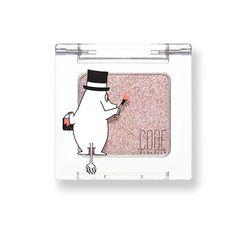 Korea Cosmetic Cathycat Code Glokolor X Moomin Edition Eye Shadow Spring Diamond #Cathycat