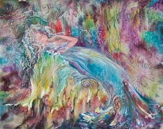 This is amazing. I love the colors by ArtSilkLana #Anything4UCreations #WhimsyFavorites
