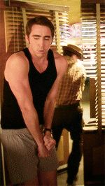 Lee Pace | His upper body … dear Lord. (#Gif)