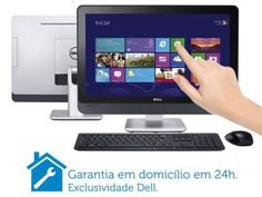 """Computador All In One Dell Inspiron One 23 F530 - Intel"""" Core i5 8GB 2TB Windows 8 LCD Touch 23"""