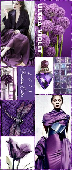 '' Ultra Violet- 2018 Pantone Color '' by Reyhan S.D