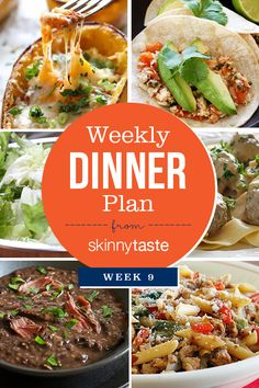 Skinnytaste Dinner Plan (Week Summer is in full swing and I am adding some seasonal recipes to the meal plan this week. Pictured below is The Skinnytaste Meal Planner where I plan my dinners for the Planning Menu, Salsa Picante, Salsa Verde, Clean Eating, Healthy Eating, Healthy Mummy, Dinner This Week, Go For It, Food Tasting