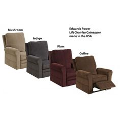 Catnapper Edwards Power Lift Chair Recliner 4851 | ComfortFirst Furniture | Power  Lift Chair $795