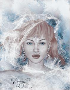 Evijanna by Sabina-Elisabeth on DeviantArt Digital Art, Fantasy, Corel Painter, Painter, Deviantart, Art, Character