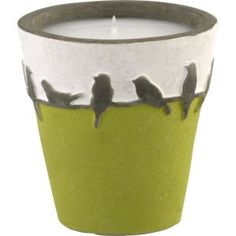 Love this bird candle.