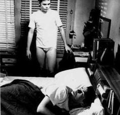 I never realized he didn't really have pants on. Wth my life is a lie.<<<is he raven wearing underwear? The Outsiders Imagines, The Outsiders 1983, Dallas Winston, Popee The Performer, Ralph Macchio, Matt Dillon, Darry, My Heart Hurts, 80s Movies