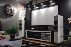 Gone Ikea Crazy: Johan's Ultimate Home Theater Hack