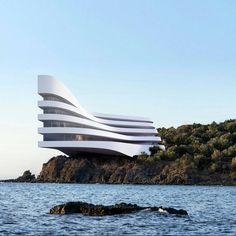 """Concept 137 by #Architect Roman Vlasov - © archvizual  Check out…"