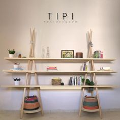 TIPI: a modular shelving system | Tododesign by Arq4design