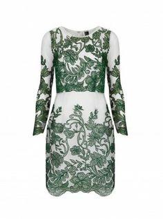 Topshop Organza Dress - Woman And Home