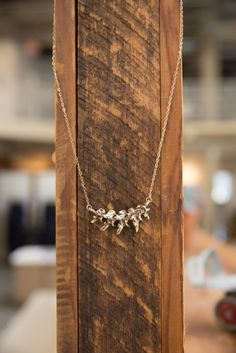 Add some spine to your jewelry collection.