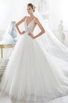 A-Line Wedding Dress by Nicole Spose 2018 Bridal Collection