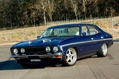 ◆ Visit MACHINE Shop Café... ◆ ~ Aussie Custom Cars & Bikes ~ 1973 XB Ford GS Falcon Sedan