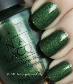 opi here today aragon tomorrow suede swatch My Go To, Last Minute Holiday Manicure   OPI Here Today... Aragon Tomorrow Suede