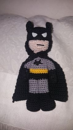 Amigurumi Batman Easy Crochet, Crochet Toys, Up, Free Pattern, Blog, Batman, Dolls, Amigurumi, Crocheting