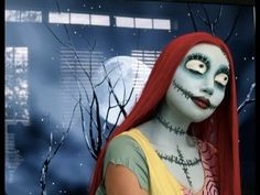 How To Sally Makeup From Nightmare Before Christmas