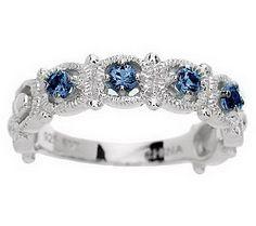 Blue Sapphire Vintage Ring