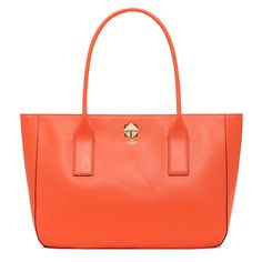 Just in time for Halloween, orange Kate Spade!