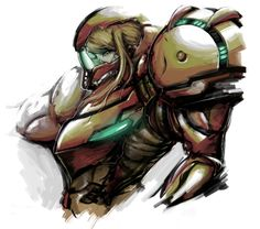 Can't wait to be Samus for Halloween :3